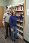 Friends host book sales at library