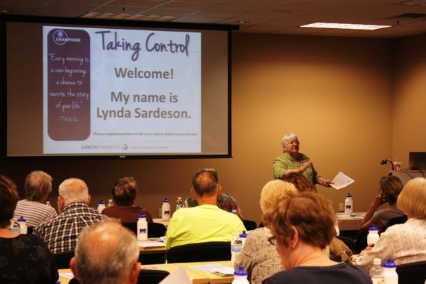 Attendees learn how to take control of diabetes