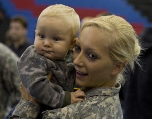 Emotional sendoff for Afghanistan deployment