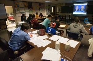 Hammond Clark students focus on debate
