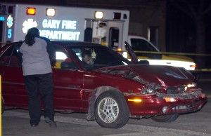 Police: Passenger found dead during traffic stop in Gary