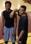 Anthony Cole, Raynard Perry, Bowman Academy's Bash Brothers