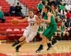 Hobart's Kara Cooke drives against Valparaiso