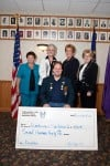 Highland Elks donate to Alzheimer's association