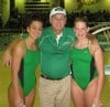 Valpo divers El-Naggar, McBride and coach Bill Chappo