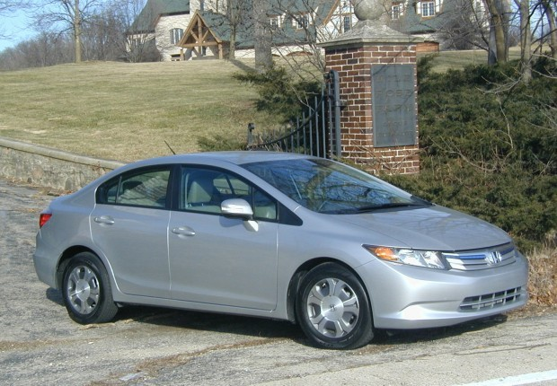 Cost per mile honda autos post for Honda civic miles per gallon