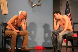 Michigan City teacher strips down for improv