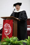 'No shortcuts to success,' Times editor tells grads