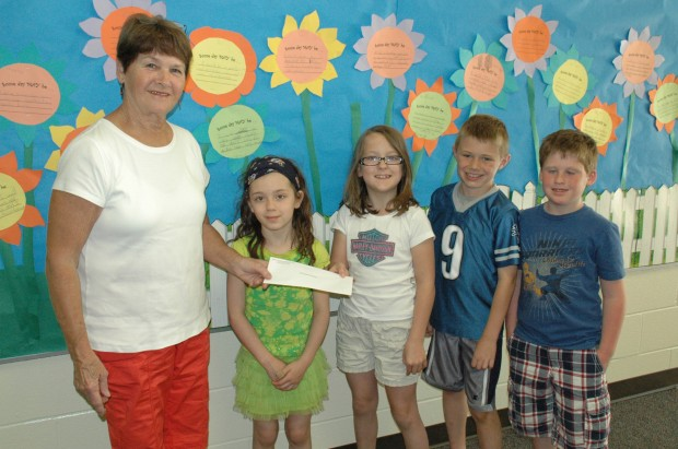 Students donate to food pantry