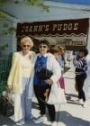 Peggy Potempa (left) with Soap Actress Jeanne Cooper on Mackinac Island in May 1994