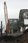Demolition of Nine Span Bridge, Indianapolis Boulevard, Hammond.