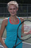 Illiana's Hilary Van Drunen will play singles this year.