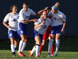 L.C. tops DAC rival Crown Point in girls soccer