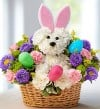 "1 (800) FLOWERS.com ""Hoppy Easter"" Fresh Flower Arrangement"