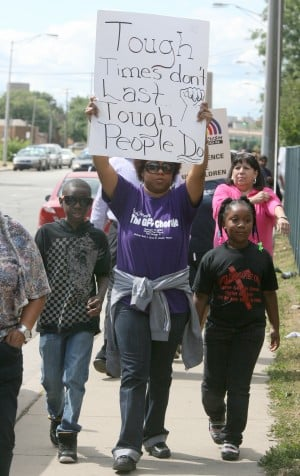 East Chicago, Gary rally for change