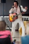 Elvis brings a hunka burnin' love to seniors on Mother's Day