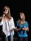 Patsy (left) and Peggy Lynn, Daughters of Country Legend Loretta Lynn, Performing at Drury Lane Theatre June 22, 2012