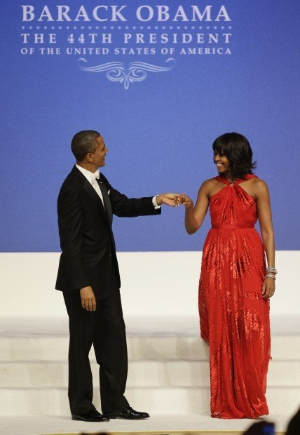 Inauguration: Say yes to the (second) dress