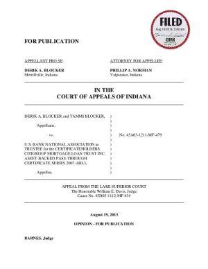 Appeals court OKs M'ville foreclosure despite 'Redemptionist' claims