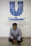 Tim Lockett has perfect attendance record at Unilever