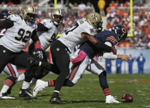 Saints hand Bears 2nd loss in row