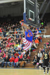 Harlem Globetrotters show off skills in Michigan City