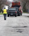 Gary 311 app, street repairs