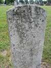 Robert Woods' old headstone