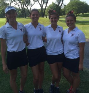 Five seniors lead Portage girls golf team