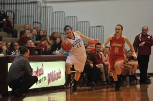 Wildcats hold off Niners to advance in girls basketball sectional
