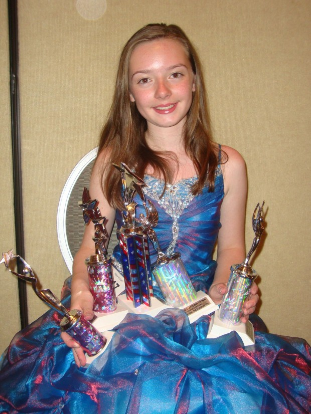 Preteen brings home a suitcase full of pageant trophies ...preteen hardcore
