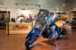 New Indian Chief motorcycles roll into region