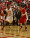 Andrean's D.J. Gonzalez is guarded
