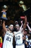David Robinson would love to see Duncan win title