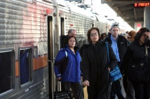 South Shore ridership drops in 2013