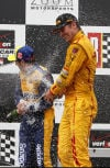 Hunter-Reay wins 2nd straight year in Alabama