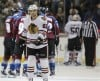 Blackhawks' streak ends with loss to Avs