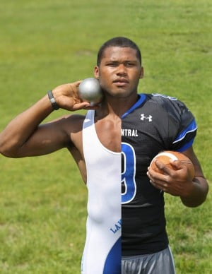 L.C.'s Robinson earns Times Male Athlete of the Year