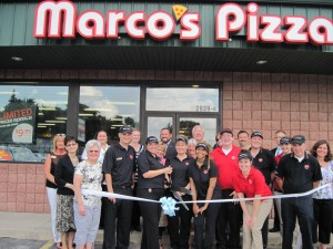 Highland Chamber welcomes Marco's Pizza