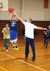 Hobart police take kids to court (to shoot hoops)