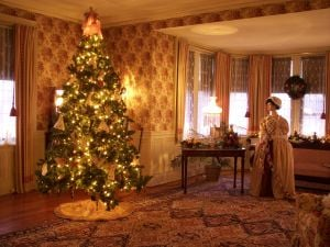 'Christmas At Barker Mansion' opens Saturday