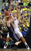 Michigan freshman and Chesterton native Mitch McGary
