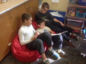 Central Elementary Book Buddies, Cool Tools are keys to our success