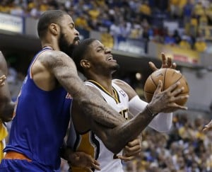 Knicks try to stay alive Thursday against Pacers  