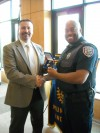 Munster police honor top officer