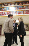 Ritz visits Munster High