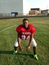 T.F. South linebacker Jariel Brooks