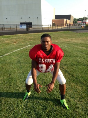 T.F. South linebacker gets the job done
