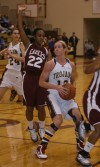 Chesterton's Brooke Gardner looks to the basket