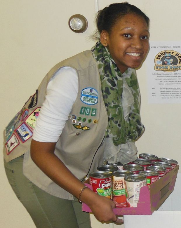 Teen takes action to add recycling and subtract hunger